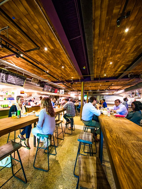 Conservatory Food Hall Beer Garden Guide Downtown Houston