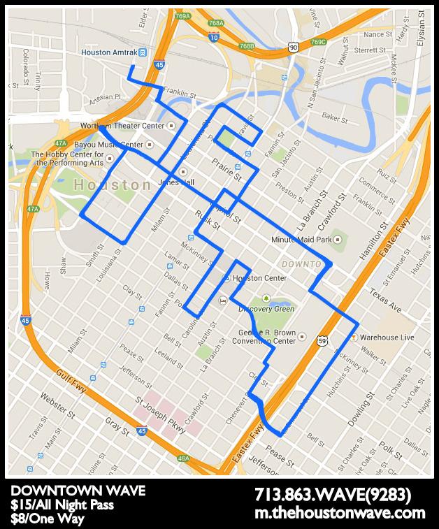 Getting Around | Downtown Houston